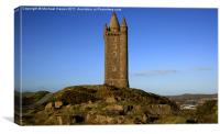 Scrabo Tower overlooking Newtownards, Canvas Print