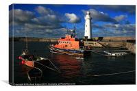 Donaghadee Lighthouse, Canvas Print