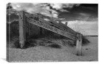 Sand Dunes Kinloss Beach Scotland, Canvas Print