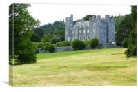 Castlewellan Country Park and Castle, Canvas Print