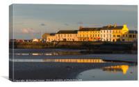 Donaghadee Harbor at sunset, Canvas Print