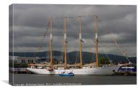 Tall Ships visit Belfast, Canvas Print