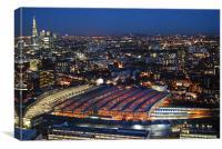 London PD, Canvas Print