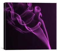 Smoke PD, Canvas Print