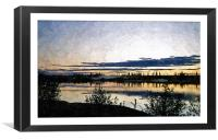 Alaska oil painting, Canvas Print