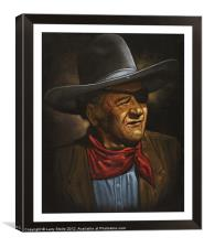 John Wayne, Canvas Print