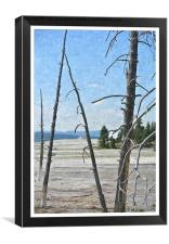 Yellowstone Park, Canvas Print