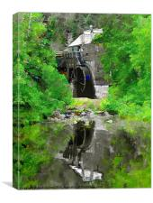 Old Mill, Canvas Print