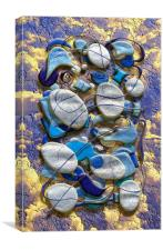 Arrangement of Stones, Canvas Print