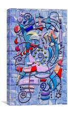Geometric Wizardry, Canvas Print