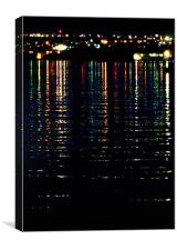 City Lights Upon the Water (2), Canvas Print