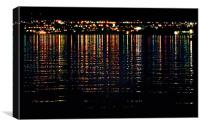 City Lights Upon the Water (1), Canvas Print