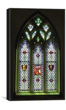 South Stained Glass Window Christ Church Cathedral, Canvas Print