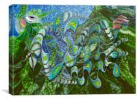 Kelp Dragon, Canvas Print