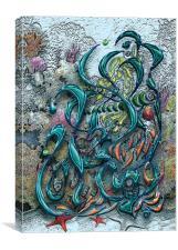 Neptune's Throne, Canvas Print