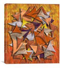 Autumn Deltas, Canvas Print