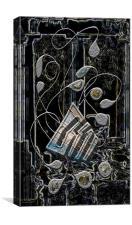 Gordian Harp, Canvas Print