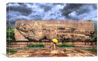 Reclining Buddha, Canvas Print