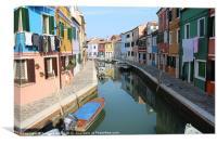 Burano Italy, Canvas Print