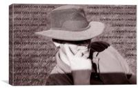 Cool Cowboy, Canvas Print