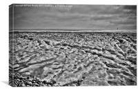 Where is the sand on the beach?, Canvas Print