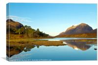 Liathach Morning Sunrise, Canvas Print