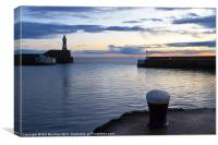 Fraserburgh January Sunrise, Canvas Print