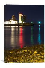 Colour Reflections Aberdeen, Canvas Print