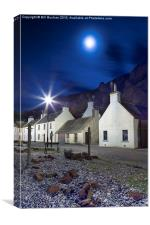 Pennan Moonlight, Canvas Print