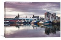 Fraserburgh Late Afternoon, Canvas Print