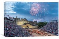 Edinburgh Royal Military Tattoo 2016, Canvas Print