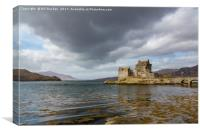 Clouds Over Eilean Donan, Canvas Print