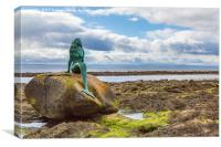 Mermaid Of The North, Canvas Print