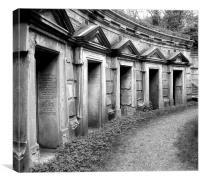 Highgate Cemetery, Canvas Print