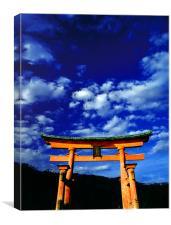 Miyajima Torii Japan, Canvas Print