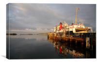 Islay Ferry, Canvas Print