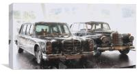 Mercedes Benz, Canvas Print