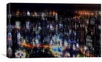 Tokyo abstract, Canvas Print