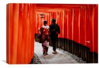 Japan Kyoto , Canvas Print