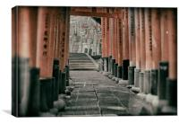 Japan Kyoto Fushima-Inari Shrine, Canvas Print