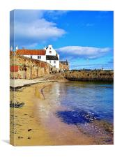 Crail in Summer, Canvas Print