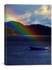 A Rainbows Moment, Canvas Print