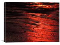 Sandfire, Canvas Print