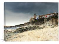 Porthleven Storm, Canvas Print