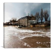 Paisley Storm, Canvas Print