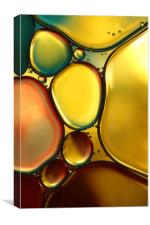 Oil & Water Abstract II, Canvas Print