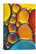 Tropical Oil & Water II, Canvas Print