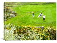 Golf, Canvas Print