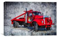 Old Mack Truck, Canvas Print