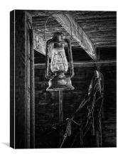 Lantern in the Barn